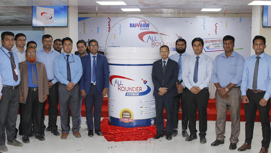 Rainbow brings 'All-rounder Exterior' paints
