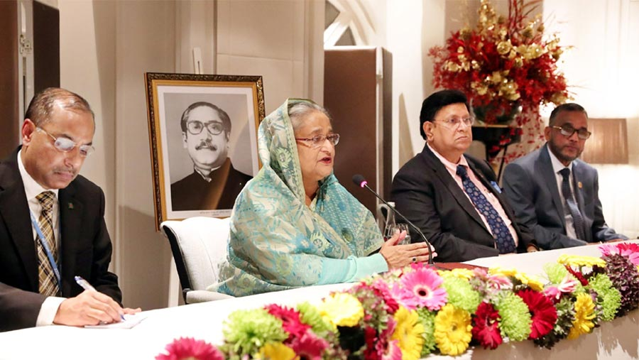 Drive against graft, terrorism will continue: PM