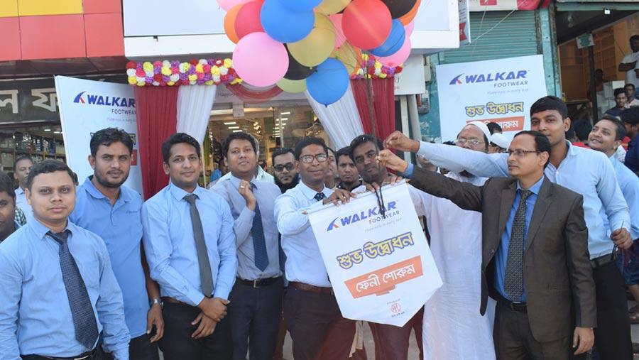 'Walkar' footwear opens outlet in Feni