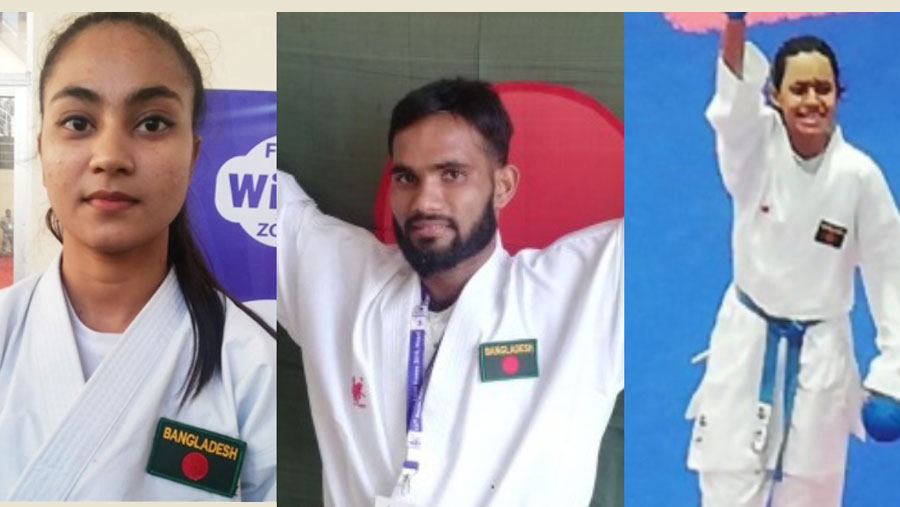 SA Games: Athletes bring three more gold medals for BD