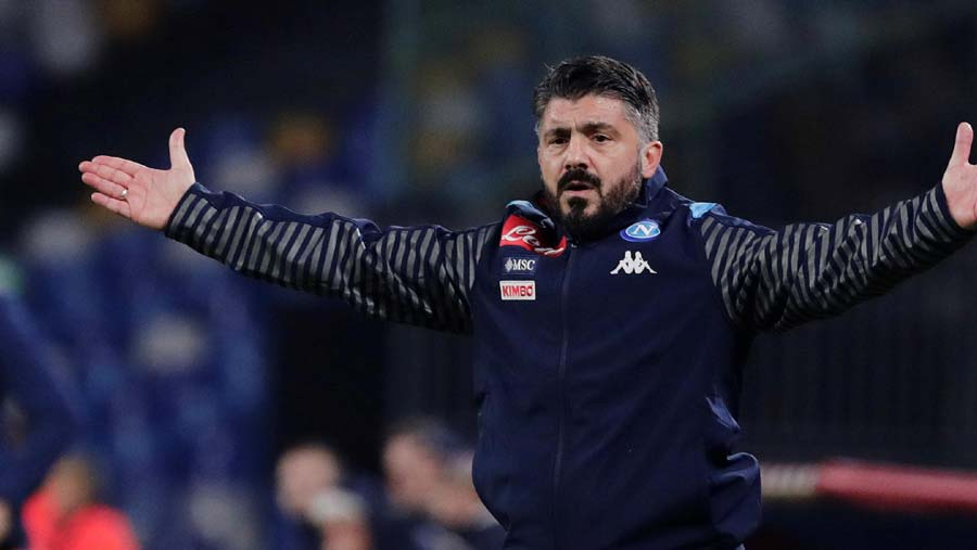 Gattuso loses on Napoli debut