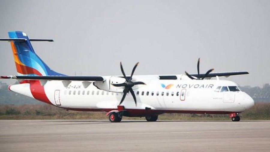NOVOAIR increases flights in domestic route
