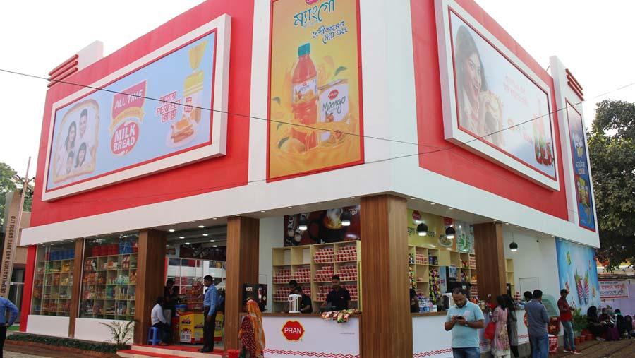 PRAN displays over 500 products at DITF