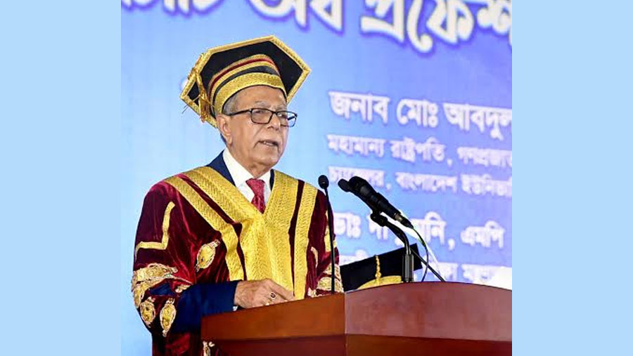President asks universities to design demand-driven curriculum