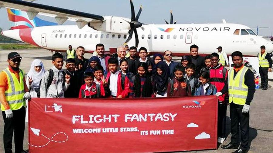 NOVOAIR fulfills dreams of under privileged children