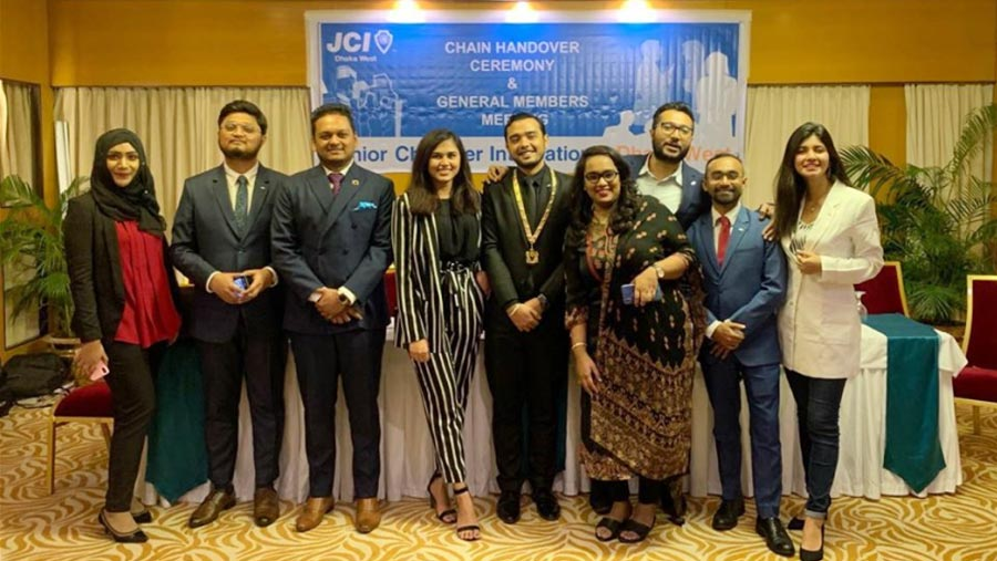 JCI Dhaka West gets new committee for 2020