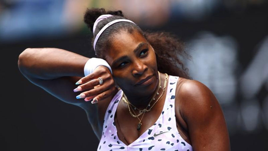 Serena knocked out by China's Wang
