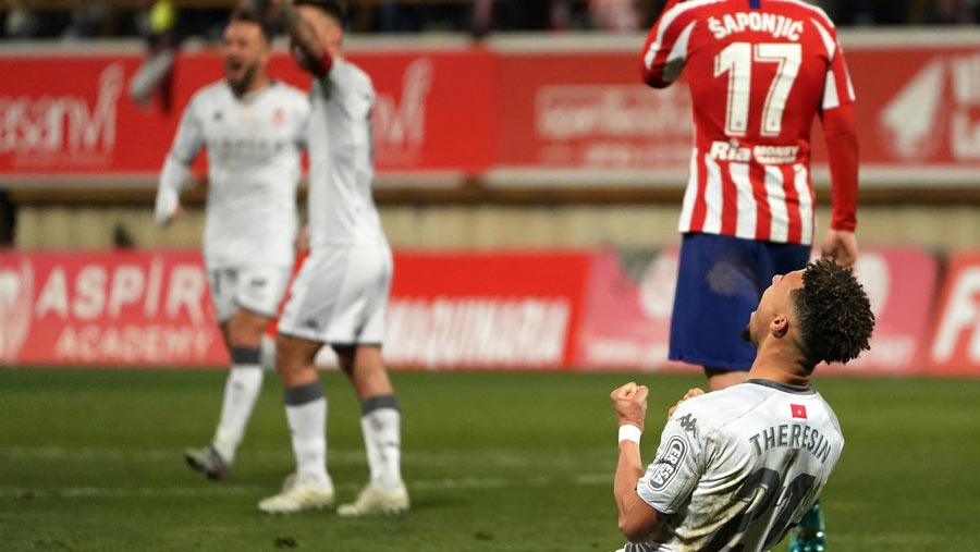 Atletico suffer extra-time Cup misery at Leonesa