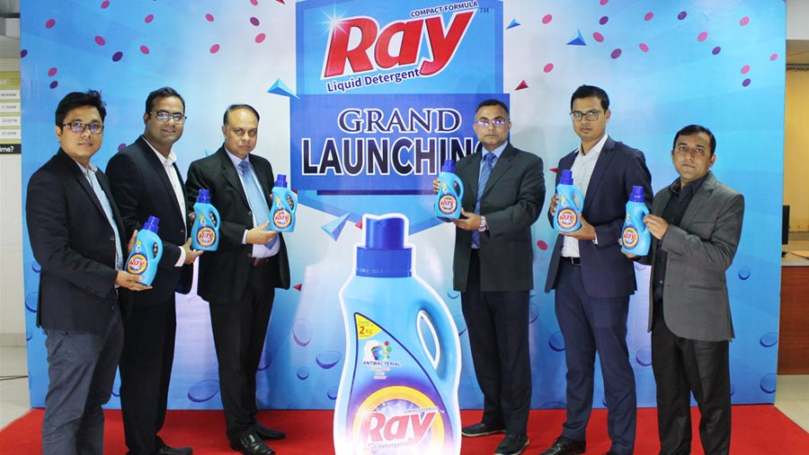 Ray Liquid Detergent hit the market