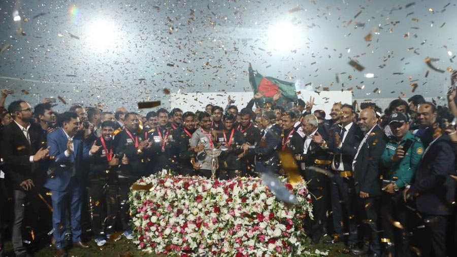U-21 cricket World Cup champions return home