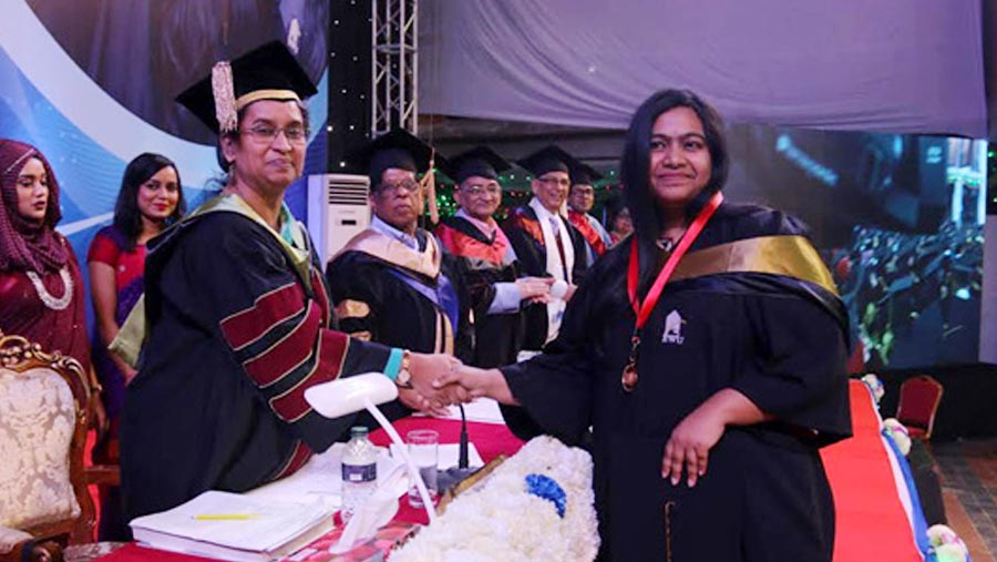East West University 19th convocation held