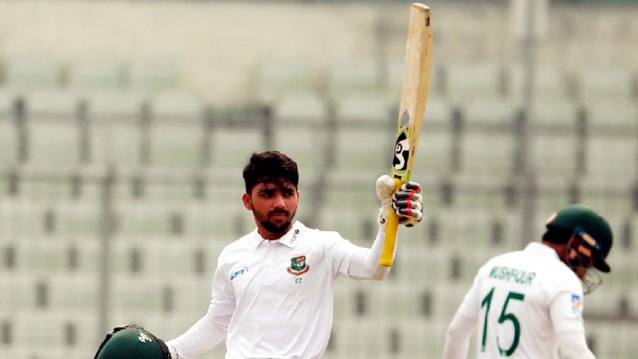 Mominul brings up ninth Test ton as the Tigers take control