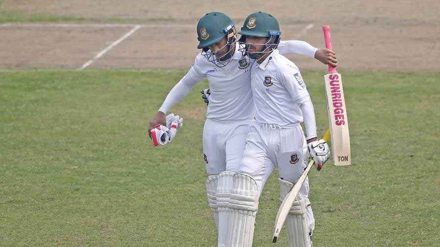 Mushfiqur hits seventh Test ton in Mirpur Test