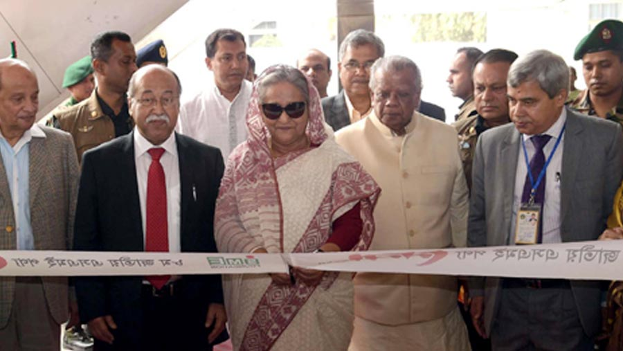 PM opens 9-day SME Fair in Dhaka
