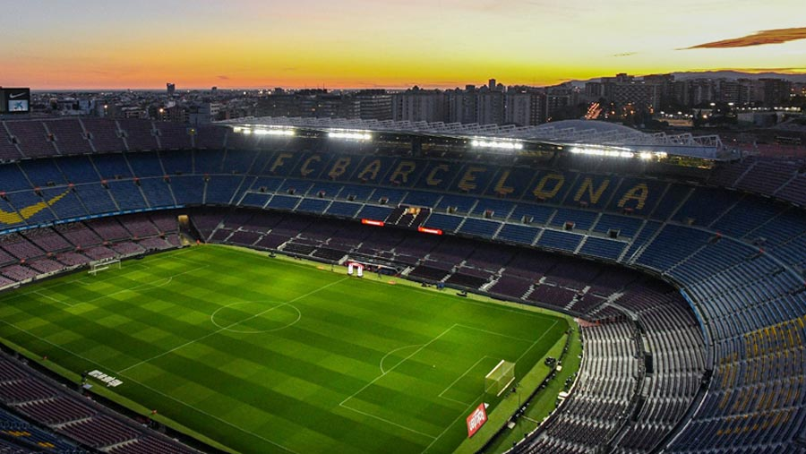 Barca-Napoli to be played behind closed doors