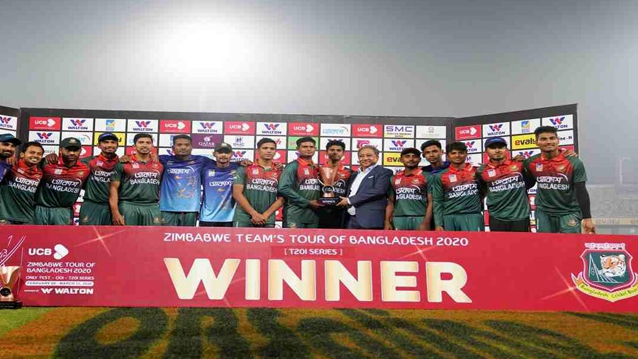Tigers crushes Zimbabwe to sweep T20 series