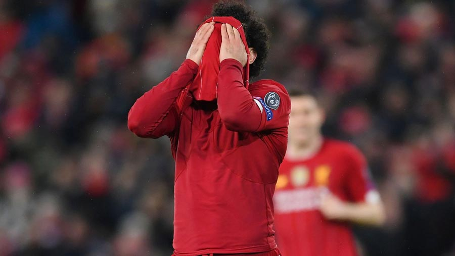 Liverpool out of Champions League