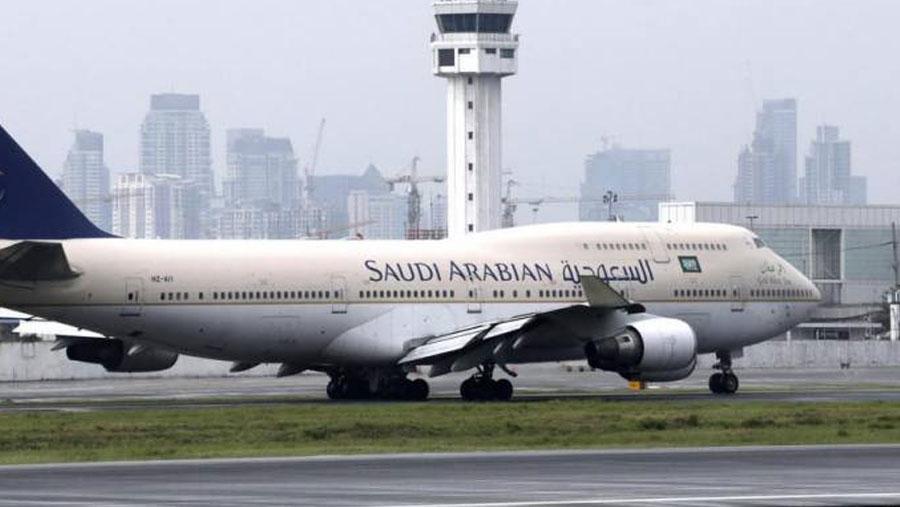 Saudi Arabia suspends international flights for two weeks