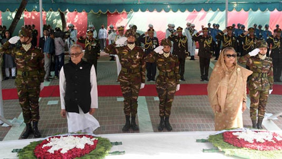 President, PM pay tribute to Bangabandhu on birth centenary