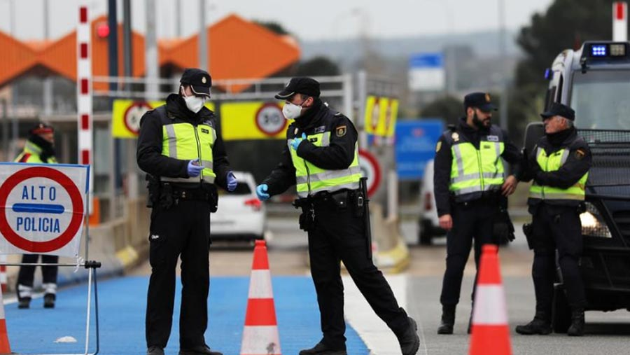 European Union seals borders amid virus fight