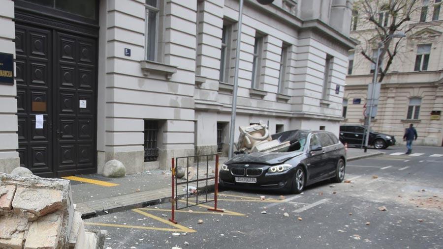 Earthquake rocks Croatia's capital