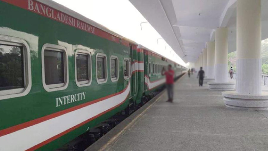 Train services suspended