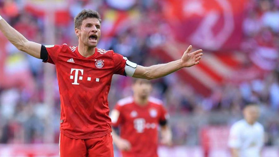 Mueller extends Bayern stay until 2023