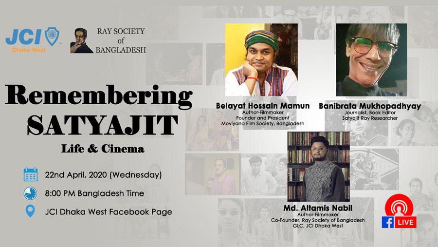 Remembering Satyajit Ray's life & cinema at Webinar
