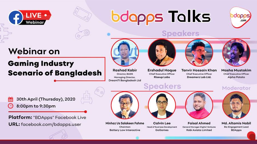 BDApps Webinar on gaming industry