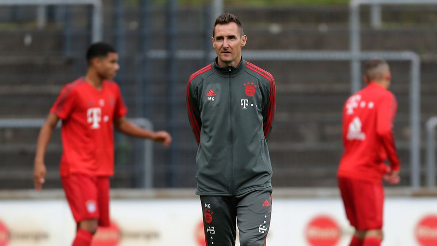 Klose joins Bayern as assistant coach