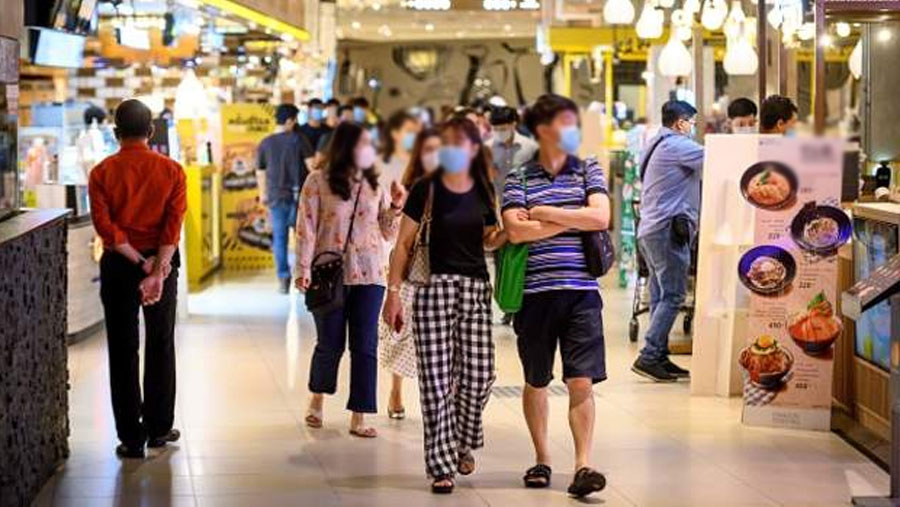 Thailand reopens shopping centres