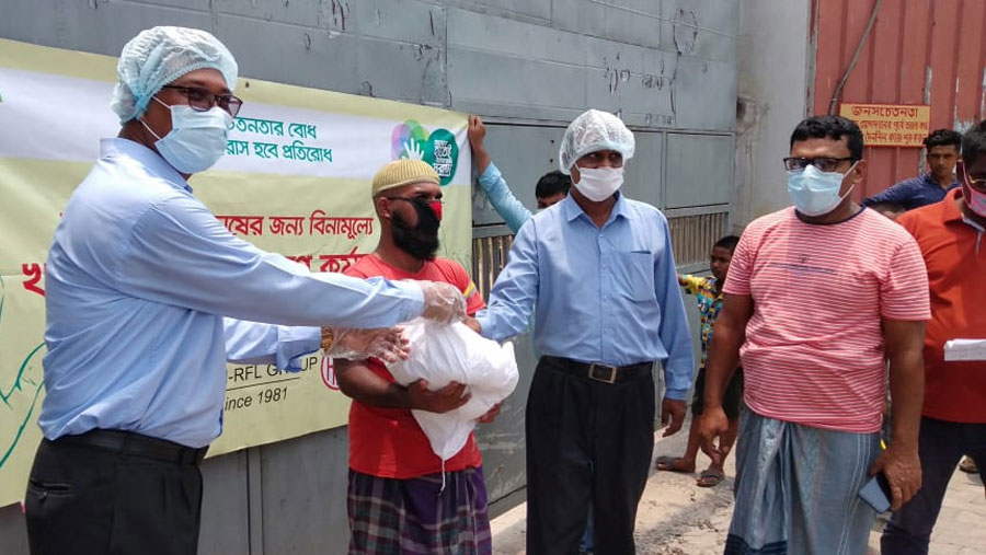 PRAN-RFL distributes relief among another 11 thousand families