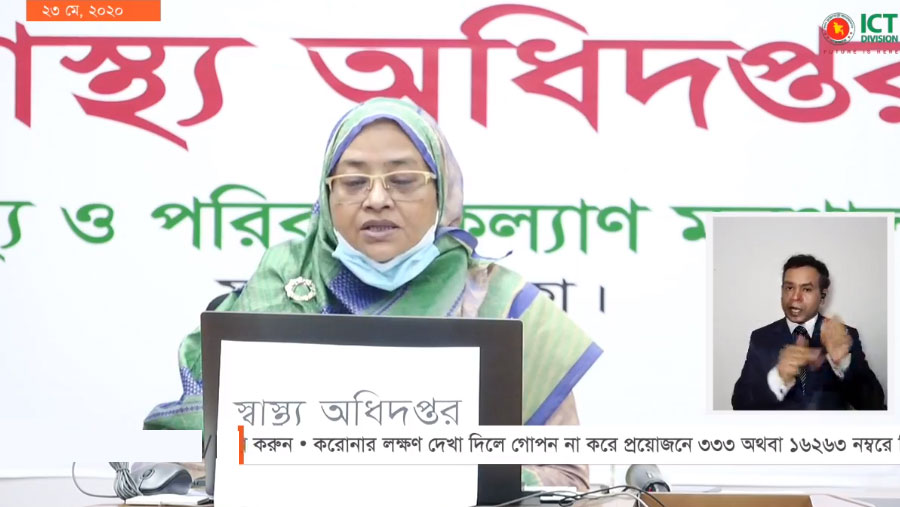 Bangladesh reports 20 more Covid-19 deaths, 1873 news cases