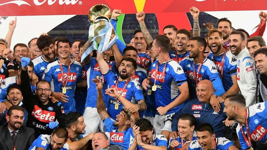 Napoli clinch Italian Cup title on penalties