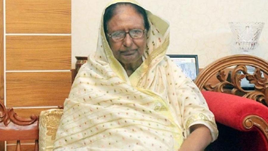 Former Home Minister Sahara Khatun shifted to ICU