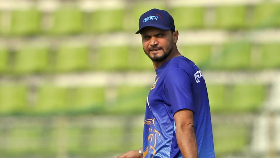 Mashrafe infected with coronavirus