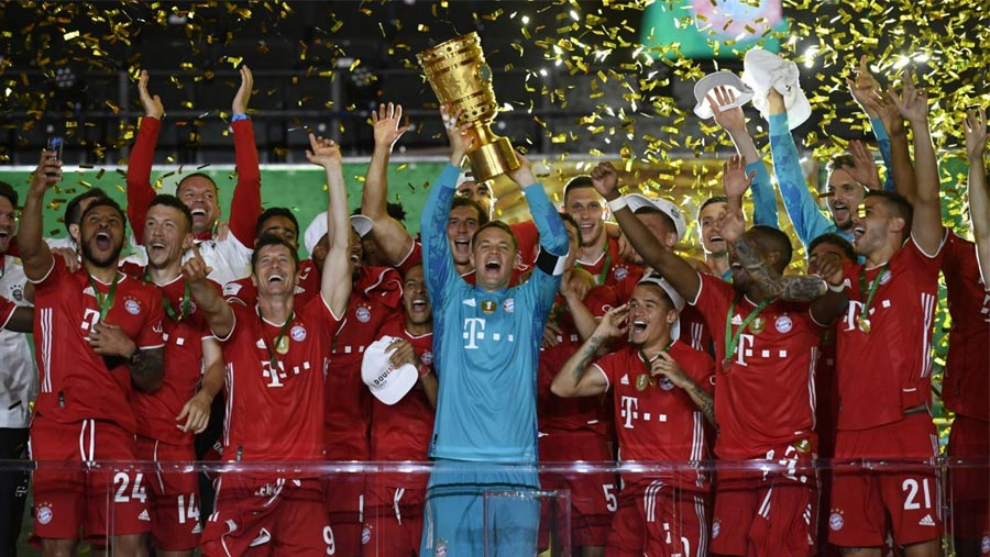 Bayern Munich win 20th German Cup title