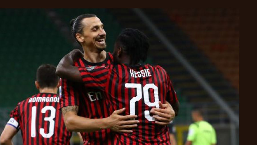 Milan beat Juventus in five-minute magic