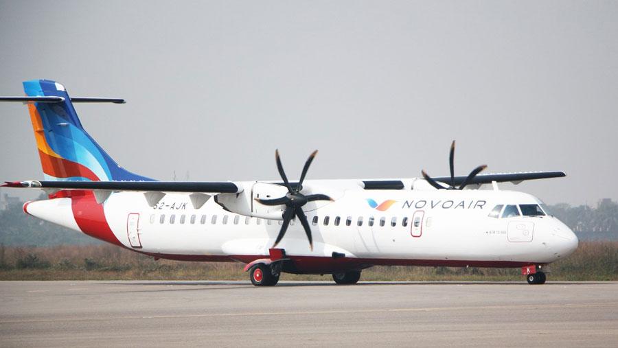 NOVOAIR will start flights to Barishal from Jul 12