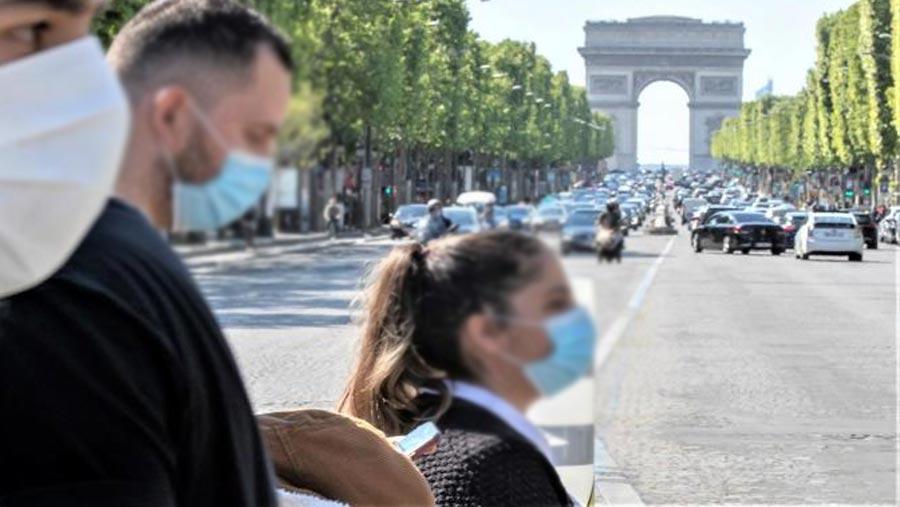 Masks mandatory in France amid new virus outbreaks