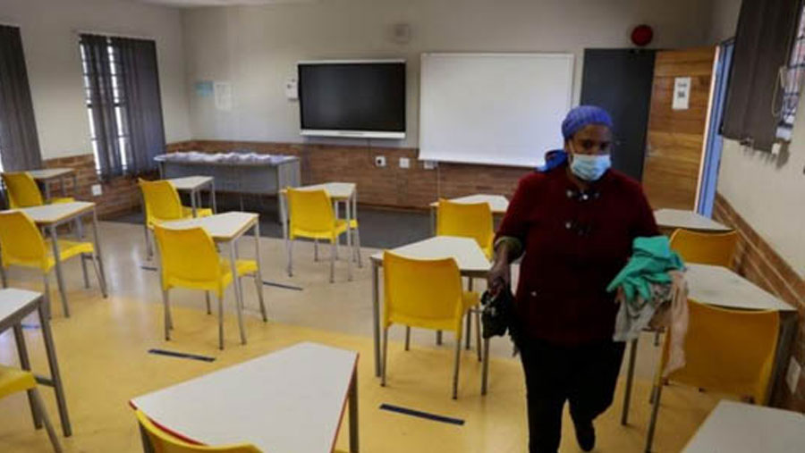 South African schools to be closed again over virus