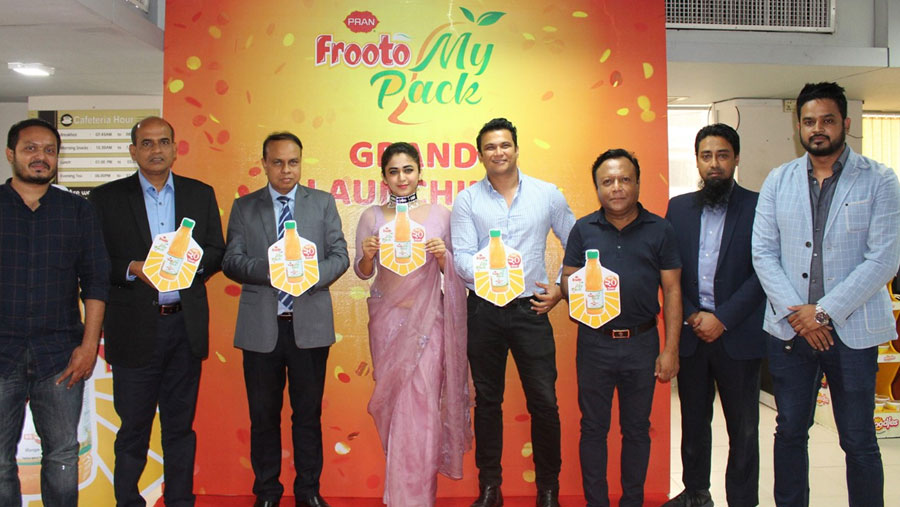 PRAN Frooto introduces new pack