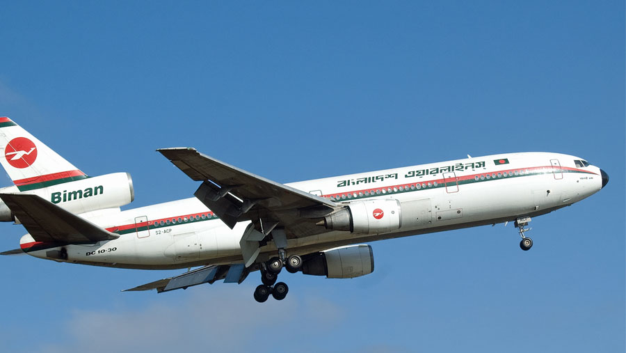 Biman operates chartered flights to Saudi Arabia on Sep 26 & 27