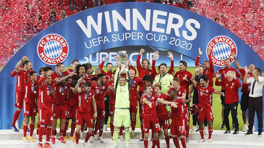 Bayern beat Sevilla to win Super Cup