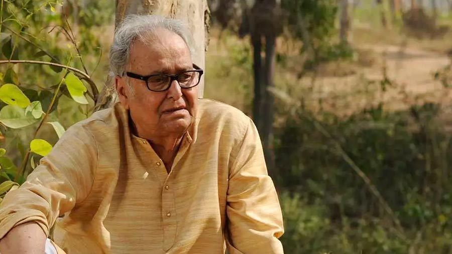 Actor Soumitra's health condition 'improving gradually'
