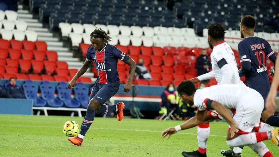 Mbappe, Kean braces see PSG smash Dijon