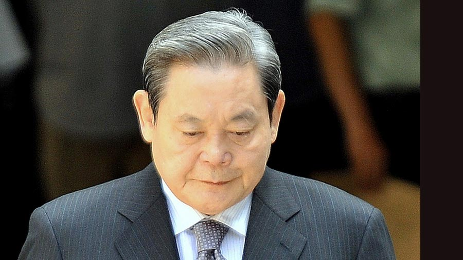 Samsung Group chairman Lee Kun-hee dies aged 78