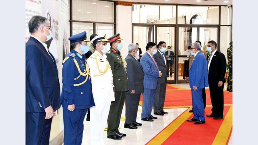 President Hamid returns home from UAE