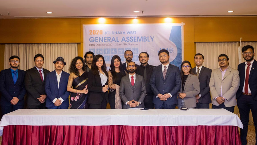 JCI Dhaka West gets new committee for 2021