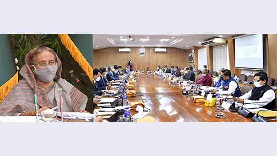 Cabinet for restoring govt data at Kaliakair Data Centre
